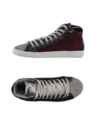 Springa Footwear High Tops And Trainers Women Maroon