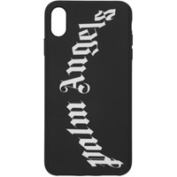 Palm Angels Black Arch Logo Iphone Xs Max Case