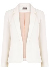 Oasis Tailored Event Blazer Off White