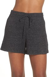 Joe's Jeans Relaxed Fit Sleep Shorts Heather Black