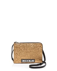 House Of Holland Metallic Crackle Crossbody