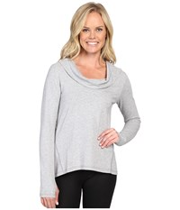 Lucy Surrender Pullover Sleet Grey Heather Women's Long Sleeve Pullover Gray