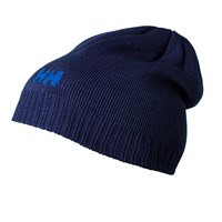 Helly Hansen Ribbed Logo Beanie One Size Purple Navy
