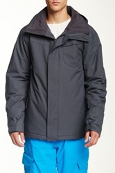 Quiksilver Mission Solid Snow Jacket Gray