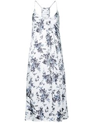Strateas Carlucci Botany Slip Dress Polyester Xs White
