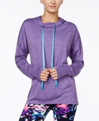 Material Girl Active Juniors' Hoodie Only At Macy's Purple Party