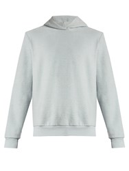 Fanmail Cotton Fleece Hooded Sweatshirt Light Blue