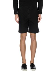 Burberry Brit Trousers Bermuda Shorts Men Black