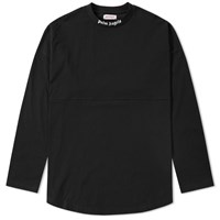 Palm Angels Long Sleeve Over Fit Tee Black