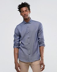 Selected Slim Long Sleeved Shirt Navy