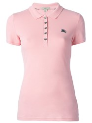 Burberry Classic Polo Shirt Pink Purple