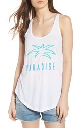 South Parade Bella Paradise Tank White