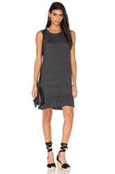 Nation Ltd. Serena Mini Dress Gray