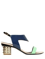 Nicholas Kirkwood 55Mm Patent Leather Slingback Sandals