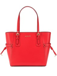 Michael Kors Collection Voyager Tote Bag Red