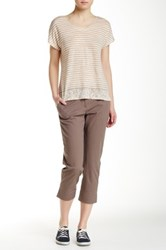 Tommy Bahama Sail Away Twill Crop Pant Brown