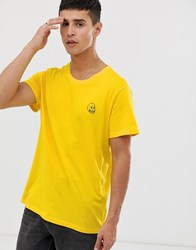 Cheap Monday Tiny Skull T Shirt Yellow