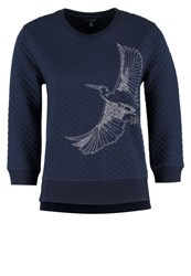 Banana Republic Sweatshirt Preppy Navy Dark Blue