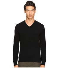 Vince Cashmere Long Sleeve Crew Neck Sweater Black