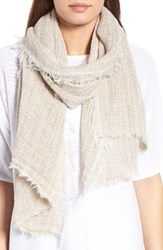 Eileen Fisher Women's Organic Linen And Cotton Woven Scarf