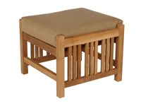 Barlow Tyrie Mission Footstool Beige