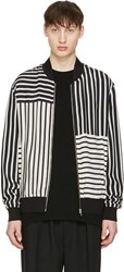 Mcq By Alexander Mcqueen Off White Summer Ma 1 Jacket