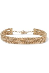 Rosantica Onore Gold Tone Choker One Size
