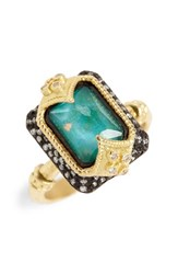 Armenta Women's Old World Opal And Diamond Ring