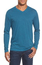 Men's Agave 'Walter' Long Sleeve V Neck T Shirt