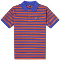 Patta Stripe Polo Blue