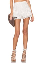 Lovers Friends Oasis Skort Ivory
