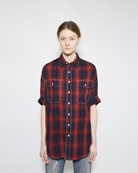 R 13 X Oversized Short Sleeve Shirt