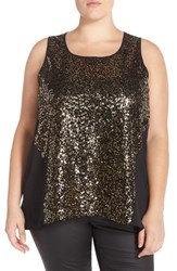 Plus Size Women's Bb Dakota 'Jennibelle' Sequin Tank