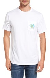 Southern Tide Men's Caribbean Fish Graphic T Shirt