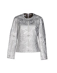 Dries Van Noten Shirts Blouses Women Silver