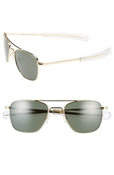 Randolph Engineering 52Mm Aviator Sunglasses Gold