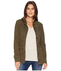 Lucky Brand Utility Jacket Olive Night Coat Green
