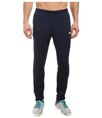 Nike Dry Academy Soccer Pant Obsidian Obsidian White Men's Casual Pants Navy