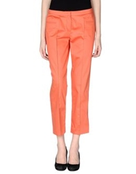 Caractere Casual Pants Orange