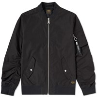 Carhartt Adams Ma 1 Bomber Jacket Black