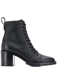 Jimmy Choo Lace Up Ankle Boots Black