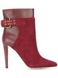 Jimmy Choo Major 100 Boots Red