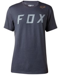 Fox Men's Graphic Print Cotton T Shirt Black