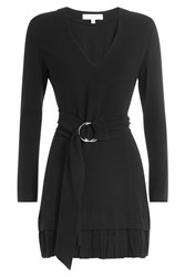 Iro Dress With Belt Black