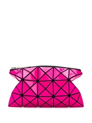 Issey Miyake Bao Bao Geometric Make Up Bag Pink