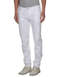 Cycle Denim Pants White