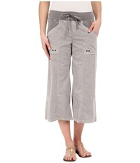 Xcvi Ayara Crop Pants Pine Bark Women's Clothing Brown