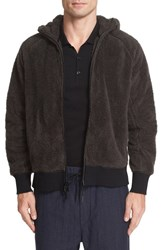 Rag And Bone Men's Teddy Full Zip Hoodie