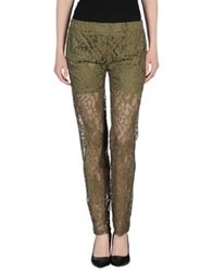Gold Hawk Casual Pants Military Green