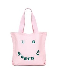 Ban.Do U R Worth It Big Canvas Tote No Color